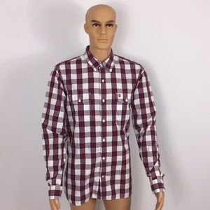 Timberland casual button up shirt large size